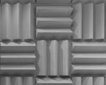 image of an Anechoic Chamber room design acoustical panel