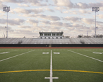 image of high school football stadium sound system design