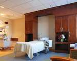 hospital room displaying audio-visual design practices