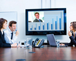 image of webinar room audio-visual consultant