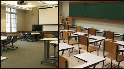 Active Learning and Traditional Classrooms