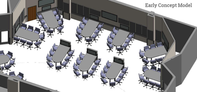 Central Michigan Active Learning Classrooms